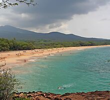 Big Makena Beach, Maui, Hawaii by Teresa Zieba