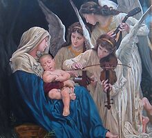 song of angels after W. Bouguereau by Hidemi Tada