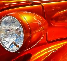 Classic Car Detail by Bill Morgenstern