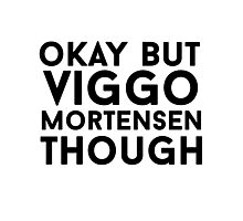Viggo Mortensen Photographic Print