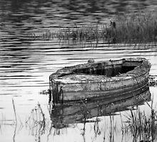 Old Boat by Mike Kingshott