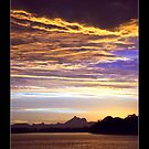 Mt Warning Sunset by Paul Cotelli