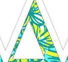 TriDelta Lilly Sticker