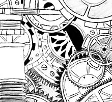 Detailed Cogs by EvieVictoria