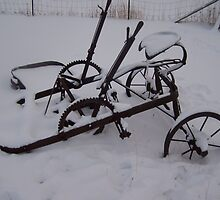 The First Plow! by Katie  Marie