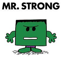 The Hulk - Mr Strong by landobry