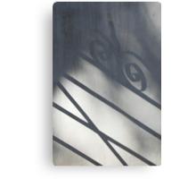 Shadow of a Gate Canvas Print
