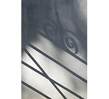 Shadow of a Gate Photographic Print