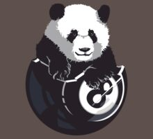 8-Ball Panda by rubyred