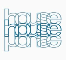 House Mirror Blue by myclubtees