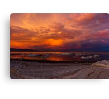 Mono Lake at Sunset Canvas Print