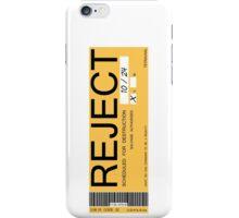 CHAPPIE - Reject Sticker  iPhone Case/Skin