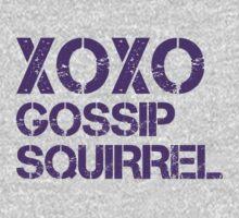 XOXO Gossip Squirrel by LaurenTank
