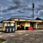 West Monkseaton Metro Station by Andrew Pounder