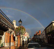 Double rainbow by Nancy Huenergardt