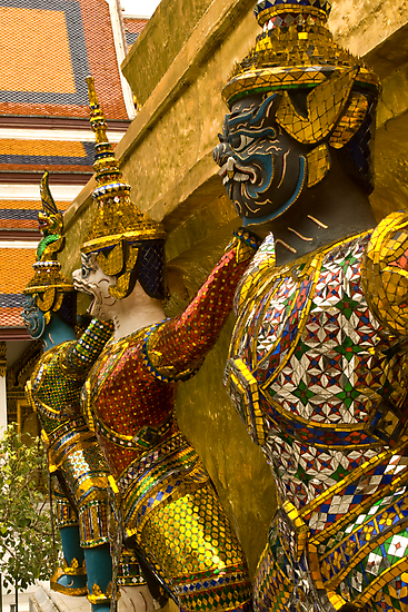 Guards at Grand Palace by Dan Sweeney