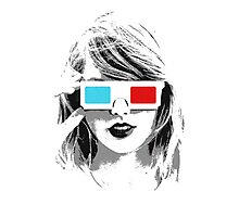 T-Swift 3D Photographic Print