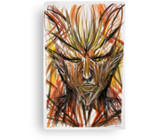 Man Of The Forest Canvas Print