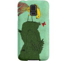 Mythical bird on Mountain top Samsung Galaxy Case/Skin