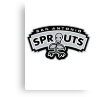 San Antonio Spurs Canvas Print