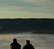 2 above the fog line by Matt Sillence