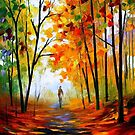 Melody Of Autumn — Buy Now Link - www.etsy.com/listing/224836057 by Leonid  Afremov