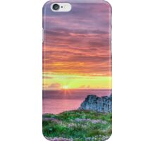 Sunset in France iPhone Case/Skin