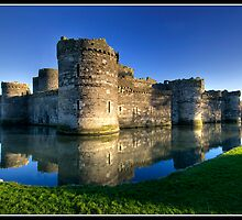 Beaumaris Castle by Shaun Whiteman