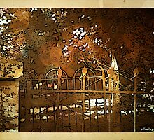 Iron Fence by ecannon11