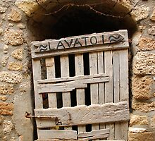Old Wooden Door in Tuscany by jojobob