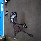 Grafitti girl by Clare Forder