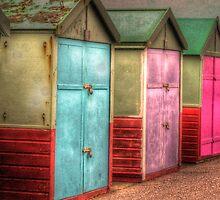 Beach Huts by Greg Roberts