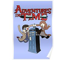 Adventures In Time Poster