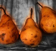 pears by Rainer Bessel