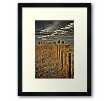 Confine Framed Print