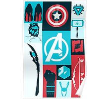 avengers minimalist Poster