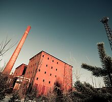 Abandoned Paper Mill by lundqma