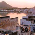 Pushkar family at rest by Jeff Barnard