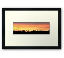 Painter's Canvas Framed Print