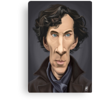 Celebrity Sunday - Benedict Cumberbatch Canvas Print