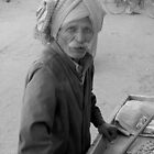 Mandawa Street Vendor by Jeff Barnard