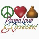 Peace, love, and chocolate by bmgdesigns