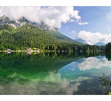 Hintersee, Berchtesgadener Land Photographic Print