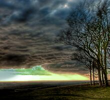 Chanctonbury : Blowing a Gale by Greg Roberts