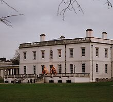 The Queen's House at Christmas by Karen Martin