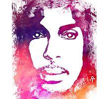 Prince Rogers Nelson - Lotus Flower Purple Photographic Print