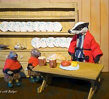 Wind in the Willows  - Breakfast with Badger by MicksPhotoArt