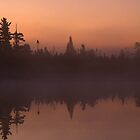 Early Morning on Tanker Lake  by Bill Spengler