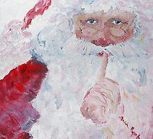 Santa...Shhhh! by Nadine Rippelmeyer