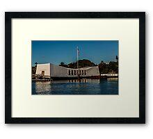 Arizona Memorial Framed Print